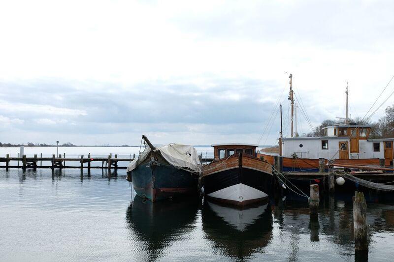 Bote am Hafen